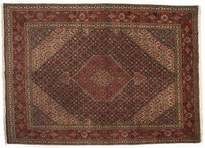 Tappeto Persiano Tabriz 350 x 246 visione dall'alto