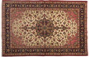 Tappeto Persiano Kum 303 x 200 visione dall'alto