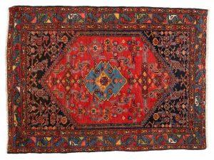 Tappeto Persiano Malayer 174 x 125 visione dall'alto