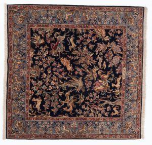 Tappeto Erivan 150 x 150 visione dall'alto