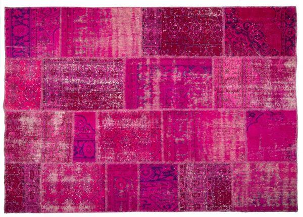 Anteprima Tappeto Turchia Patchwork 245x174cm vista dall'alto