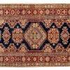 Tappeto Passatoia Afgano Kazak Gold 197x84cm visione dall'alto