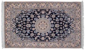 Tappeto Persiano Nain 9 capi 208x125cm alto-171 copia