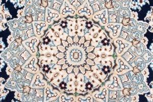 Tapeto Persiano Nain 9 capi 208x125cm dettaglio-5861