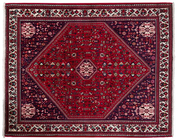 Tappeto Afgano Abadeh 200x162 cm Alto