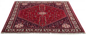 Tappeto Afgano Abadeh 200x162 cm prospettiva