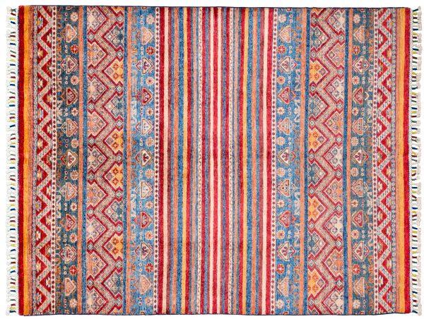 Tappeto Afgano Chapat 197x152 cm Alto