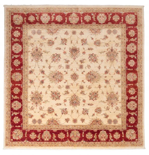 Tappeto Afgano Chobi Extra 249x245 cm Alto