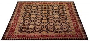 -Tappeto Afgano Hamaliya 357x270cm prospettiva