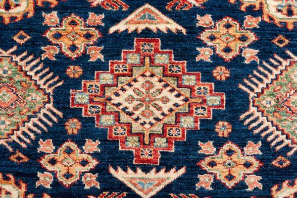 Tappeto Afgano Kazak 199x149 cm Dettaglio