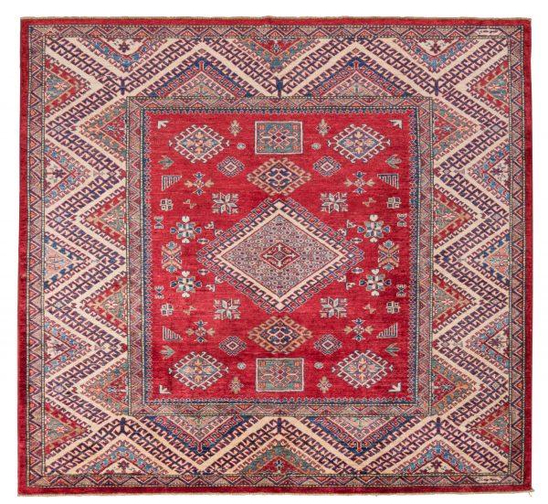 Tappeto Afgano Kazak Gold 189x204 cm Alto