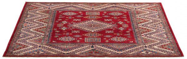 Tappeto Afgano Kazak Gold 189x204 cm Prospettiva DSC5761