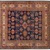 Tappeto Afgano Kazak Gold 190x181 cm Alto