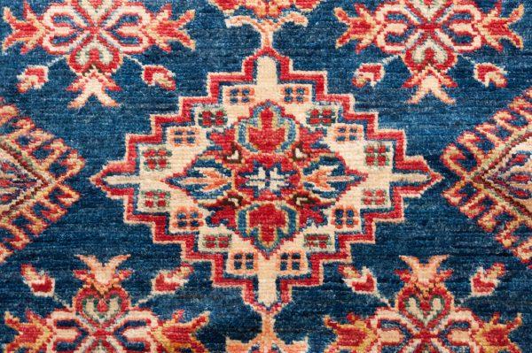 Tappeto Afgano Kazak Gold 190x181 cm Dettaglio