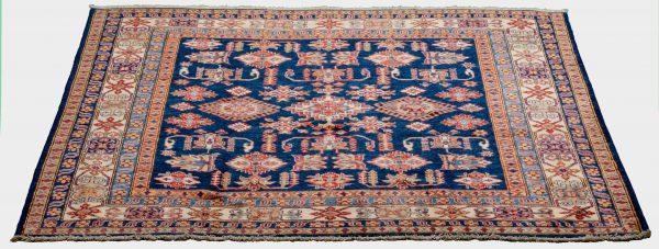 Tappeto-Afgano-Kazak-Gold-190x181-cm-Prospettiva