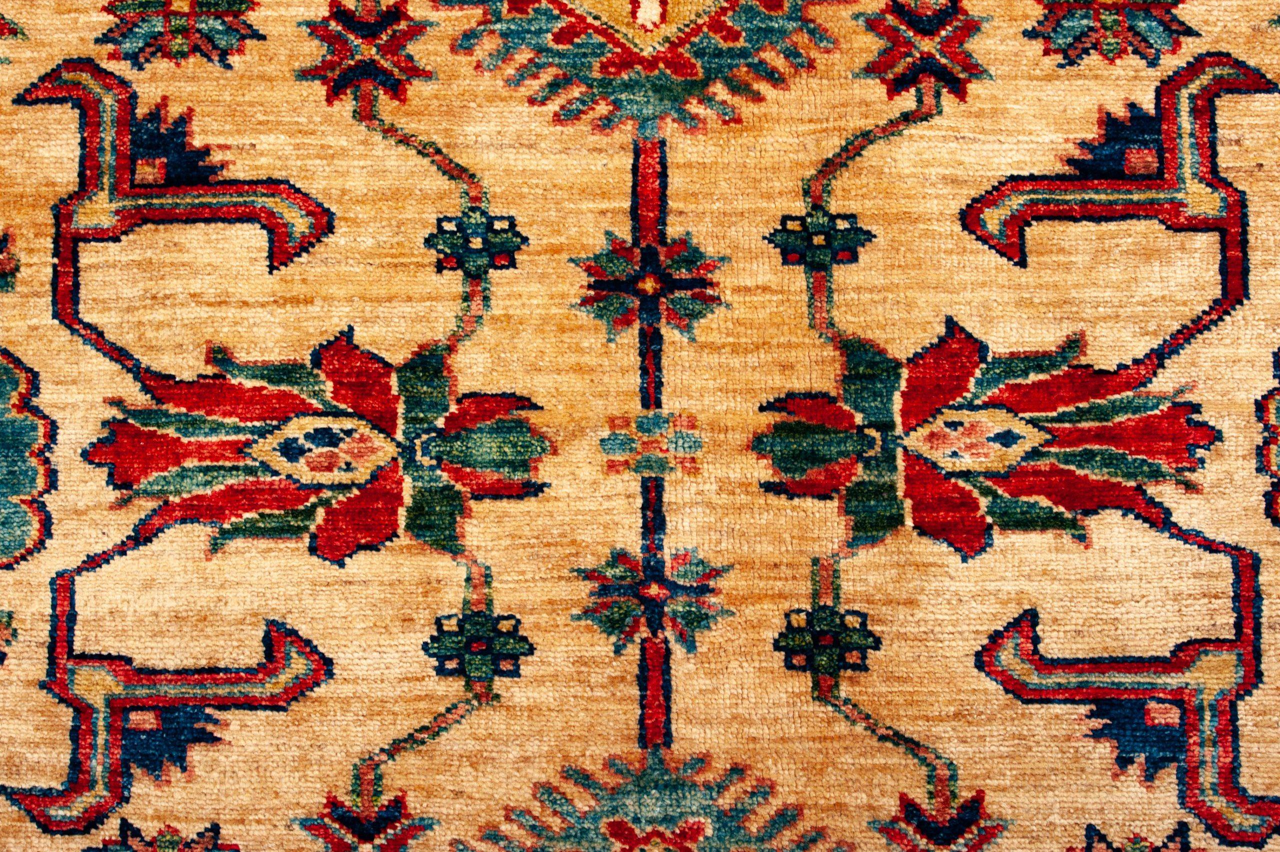 Tappeto-Afgano-Kazak-Gold-366x263cm-dettaglio