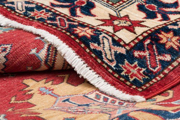 Tappeto Afgano Kazak Super 2156x155 cm Dettaglio
