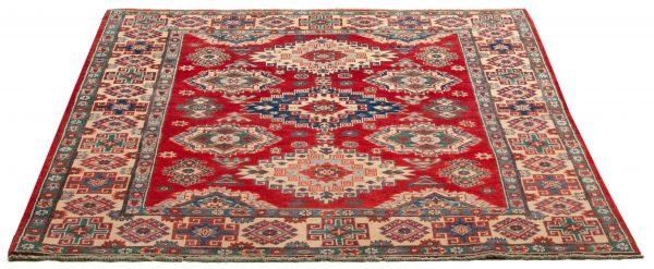Tappeto Afgano Uzbek 203x149cm Prospettiva