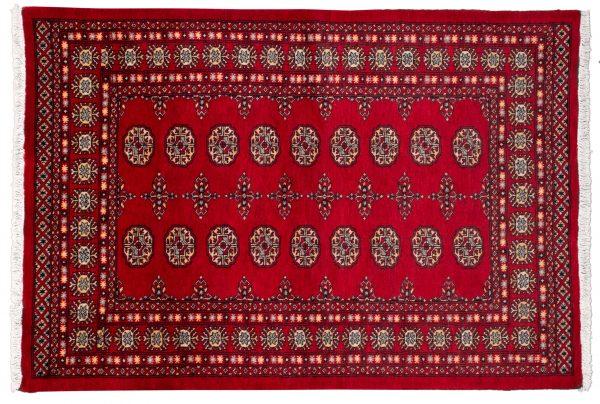 Tappeto Pakistan Bukara 180x123cm visione dall'alto