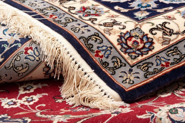 Tappeto Persiano Esfahan 300x258cm dettaglio