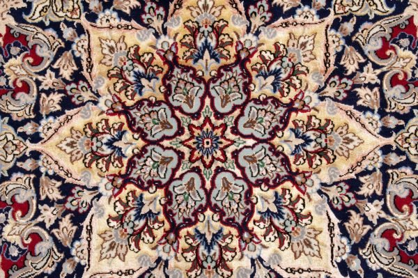 -Tappeto Persiano Esfahan 300x258cm dettaglio