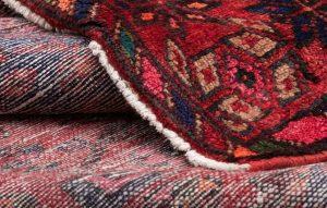 Tappeto Persiano Hamedan 216x143 cm Dettaglio