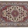 Tappeto Persiano Nain 213x138cm visione dall'alto