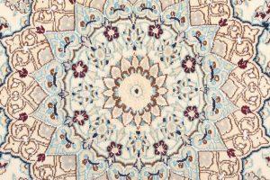 Tappeto Persiano Nain 9 250x145 cm Dettaglio