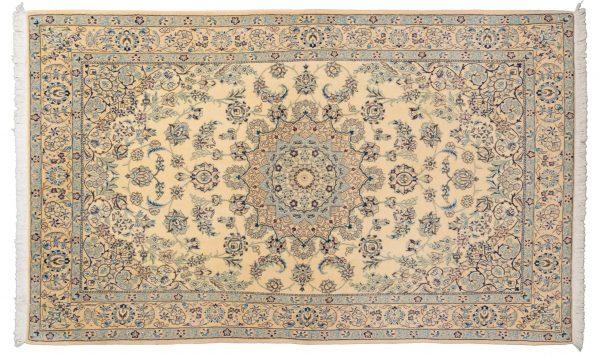 Tappeto Persiano Nain 9 capi 250x145 cm Alto
