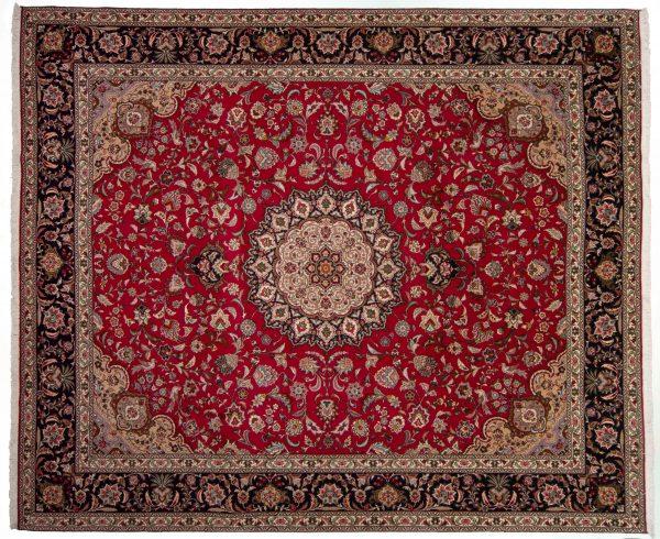 -Tappeto Persiano Tabriz 302x254cm alto