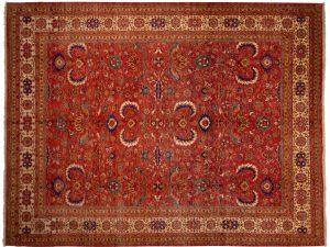 -Tappeto Persiano Yashar 369x283cm alto