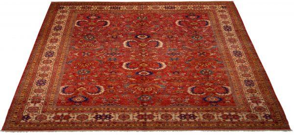 -Tappeto Persiano Yashar 369x283cm prospettiva