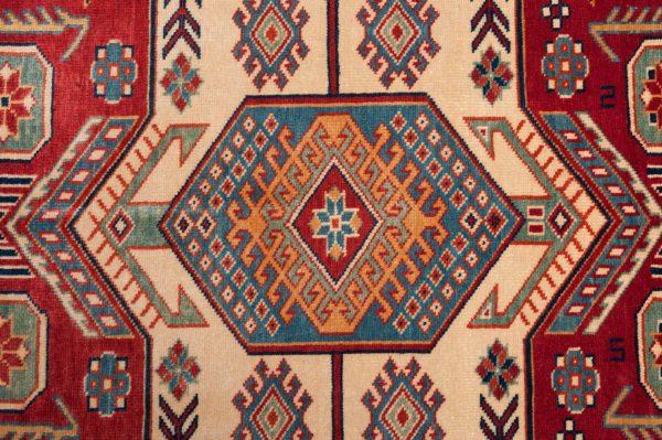 TappetoAfgano Shirwan 199x154 cm Dettaglio