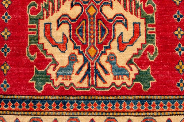 Tappeto Afgano Uzbek 180x120cm dettaglio