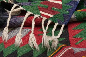 Tappeto-Afgano-Kilim-295x125-cm-Dettaglio