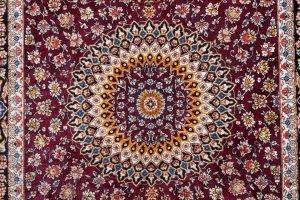 Tappeto-Persiano-Kum-Seta-125x77-cm-Dettaglio