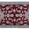 Tappeto Persiano Nain 190x78cm visione dall'alto
