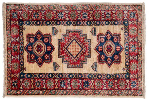 Tappeto-Afgano-Kazak-Super-82x56cm-alto