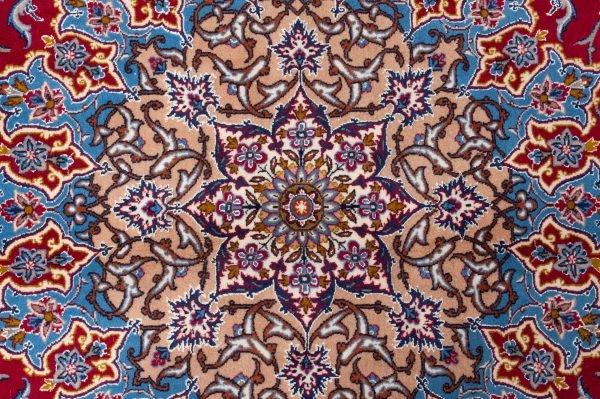 tappeto Persiano Isfahan dettaglio