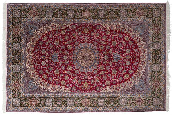 Tappeto Persiano Isfahan alto