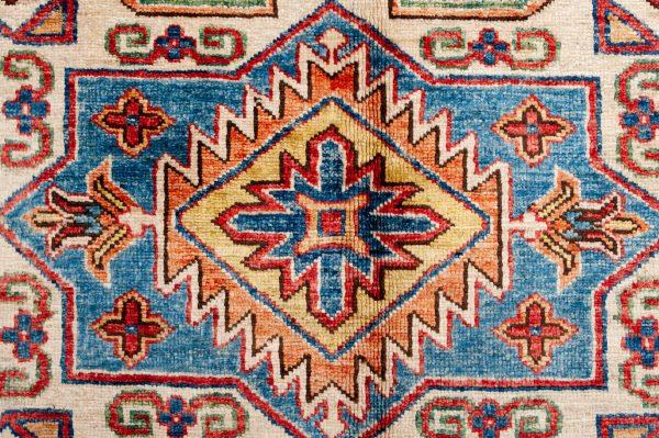 Tappeto-Afgano-Kazak-Super-Dettaglio