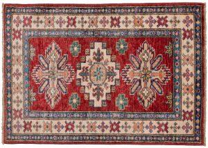 Tappeto-Afgano-kazak-Super-87x60-cm-Alto