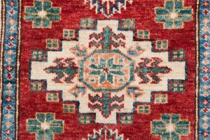 Tappeto-Afgano-kazak-Super-87x60-cm-Dettaglio