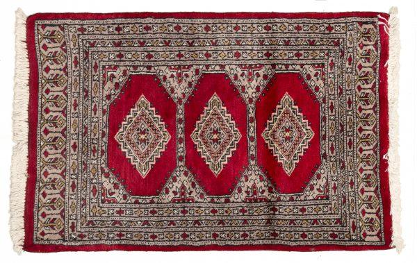 265958 Tappeto Pakistano Kashmir 92x61cm Alto
