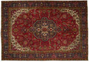 Tappeto Persiano Tabriz 289x201cm Alto